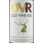 Marietta Cellars Old Vine Red Lot 67