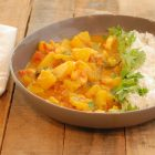 Shrimp and Pumpkin Coconut Curry